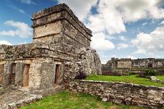 Ruínas Archaeological de Tulum Imagem de Stock