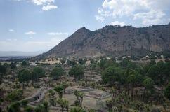 Ruínas arqueológicos em México Fotos de Stock Royalty Free