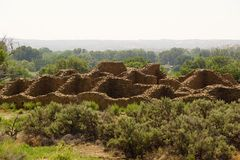Ruínas astecas imagem de stock