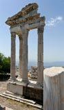 Ruínas da antiguidade em Ephesus Foto de Stock Royalty Free