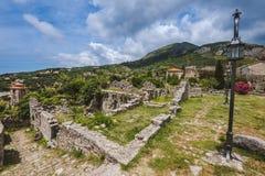 Ruínas da barra velha, Montenegro Imagens de Stock Royalty Free