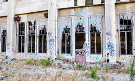 Ruínas da central elétrica de Fremantle: Austrália Ocidental Imagens de Stock Royalty Free