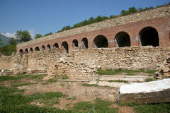 Ruínas da cidade antiga Imagens de Stock