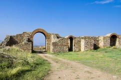 Ruínas da cidade antiga fotografia de stock
