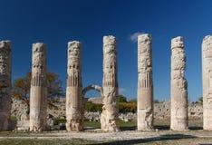 Ruínas da cidade antiga Diokaisareia na vila de Uzuncaburc Fotos de Stock