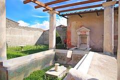 Ruínas da cidade antiga Pompeii Imagens de Stock Royalty Free