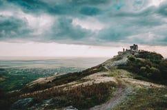 Ruínas da citadela de Șiria Imagem de Stock Royalty Free