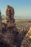 Ruínas da citadela de Rasnov foto de stock royalty free