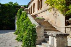 Ruínas da colônia Khersones do grego clássico Foto de Stock