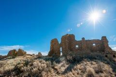 Ruínas da cultura de Chaco imagem de stock royalty free