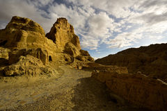 Ruínas da dinastia do guge de Tibet Fotos de Stock Royalty Free