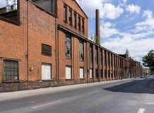 Ruínas da fábrica abandonada Foto de Stock Royalty Free