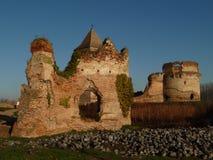 Ruínas da fortaleza medieval na Sérvia Foto de Stock Royalty Free