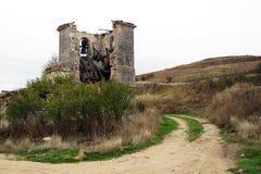 Ruínas da igreja Fotos de Stock