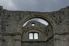 Ruínas da igreja de Crekvina fotografia de stock royalty free