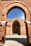 Ruínas da igreja de Saint Martin, província de Niebla do século XIII, Huelva, a Andaluzia, Espanha foto de stock