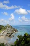Ruínas da praia Foto de Stock Royalty Free