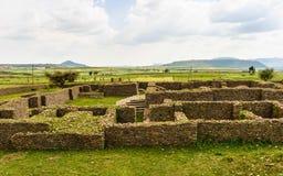 Ruínas de Aksum (Axum), Etiópia Fotografia de Stock