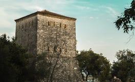 Ruínas de Ancien de Butrint Albânia foto de stock