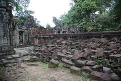 Ruínas de Angkor Imagens de Stock