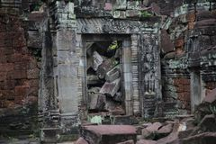 Ruínas de Angkor Fotografia de Stock Royalty Free