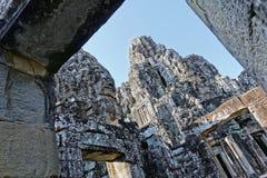 Ruínas de Angkor Wat fotografia de stock