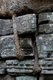 Ruínas de Angkor Wat em detalhe foto de stock