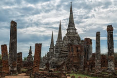 Ruínas de Ayutthaya Foto de Stock