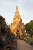 Ruínas de Ayutthaya Fotos de Stock Royalty Free