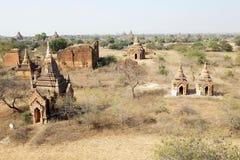 Ruínas de Bagan, Myanmar Imagem de Stock
