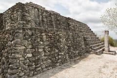 Ruínas de Calakmul em México fotografia de stock royalty free