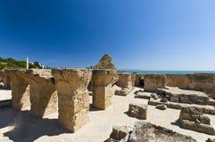 Ruínas de Carthage Fotografia de Stock