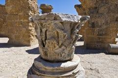 Ruínas de Carthage Imagem de Stock