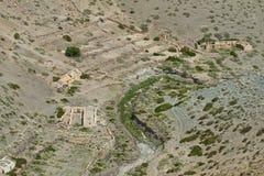 Ruínas de casas antigas no deserto de Atacama Imagens de Stock Royalty Free