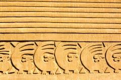 Ruínas de Chan Chan no Peru fotografia de stock
