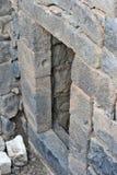 Ruínas de construções antigas no parque nacional Gamla Foto de Stock