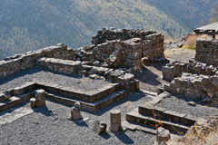 Ruínas de construções antigas no parque nacional Gamla Fotografia de Stock Royalty Free