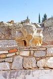 Ruínas de Ephesus Cidade do grego clássico na costa de Ionia Imagens de Stock