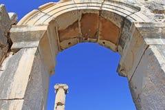 Ruínas de Ephesus Cidade do grego clássico na costa de Ionia perto de Selcuk Fotografia de Stock