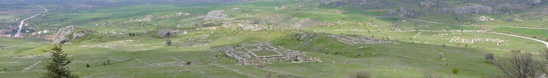Ruínas de Hattusa Imagem de Stock