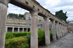 Ruínas de Herculaneum imagem de stock