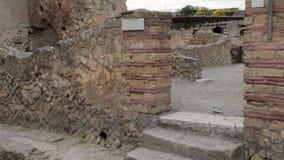 Ruínas de Herculaneum, Itália filme