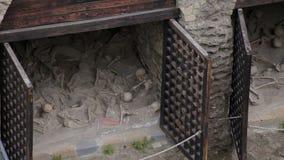 Ruínas de Herculaneum, Itália vídeos de arquivo