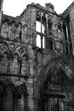 Ruínas de Holyroodhouse Fotografia de Stock