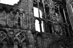 Ruínas de Holyroodhouse Imagem de Stock