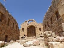 Ruínas de Jerash, Jordão Fotografia de Stock Royalty Free