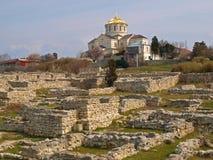 Ruínas de Khersonesa Fotos de Stock Royalty Free
