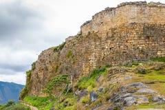 Ruínas de Kuelap na região de amazon de Peru imagens de stock royalty free