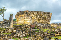 Ruínas de Kuelap, Peru imagens de stock royalty free