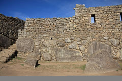 Ruínas de Machu Picchu Foto de Stock Royalty Free